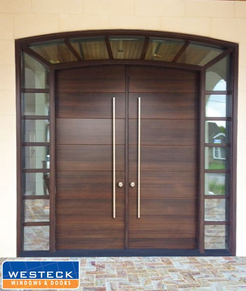 Enjoy The Natural Beauty And Luxury Of Wood In Almost Any Style And Available Wood Species If You D L Modern Entrance Door Door Design Modern Main Door Design