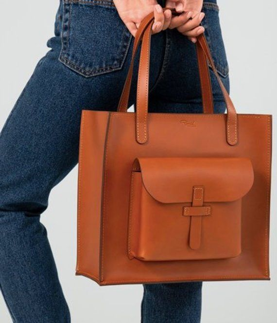 Leather bag,Womens bag,leather bags women,leather bag handmade,tote bag, leather  bag cognac,Brown Le 814f1846d2