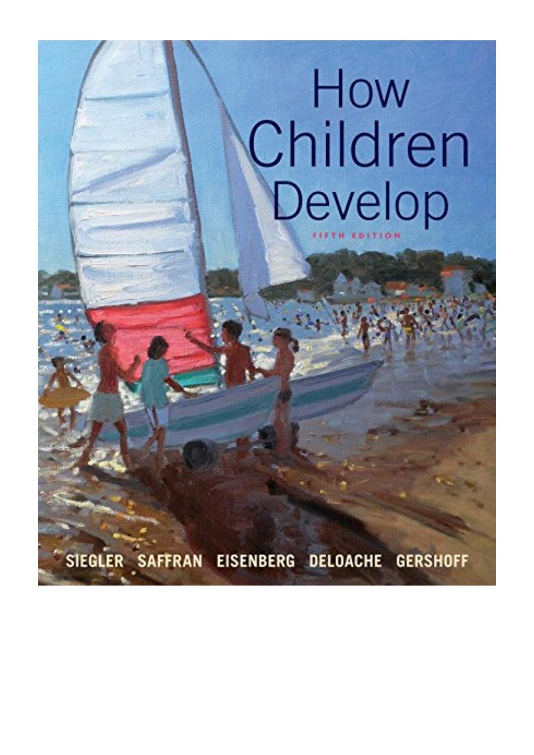How children develop pdf robert s siegler berg