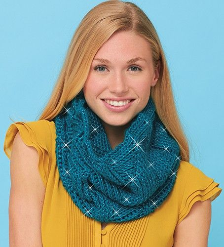 Crochet This Cowl Using Caron Simply Soft Party Yarn With Images