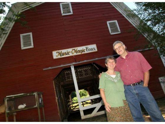 John Clark/The Gazette) Rick and Myra Ramseur in front of