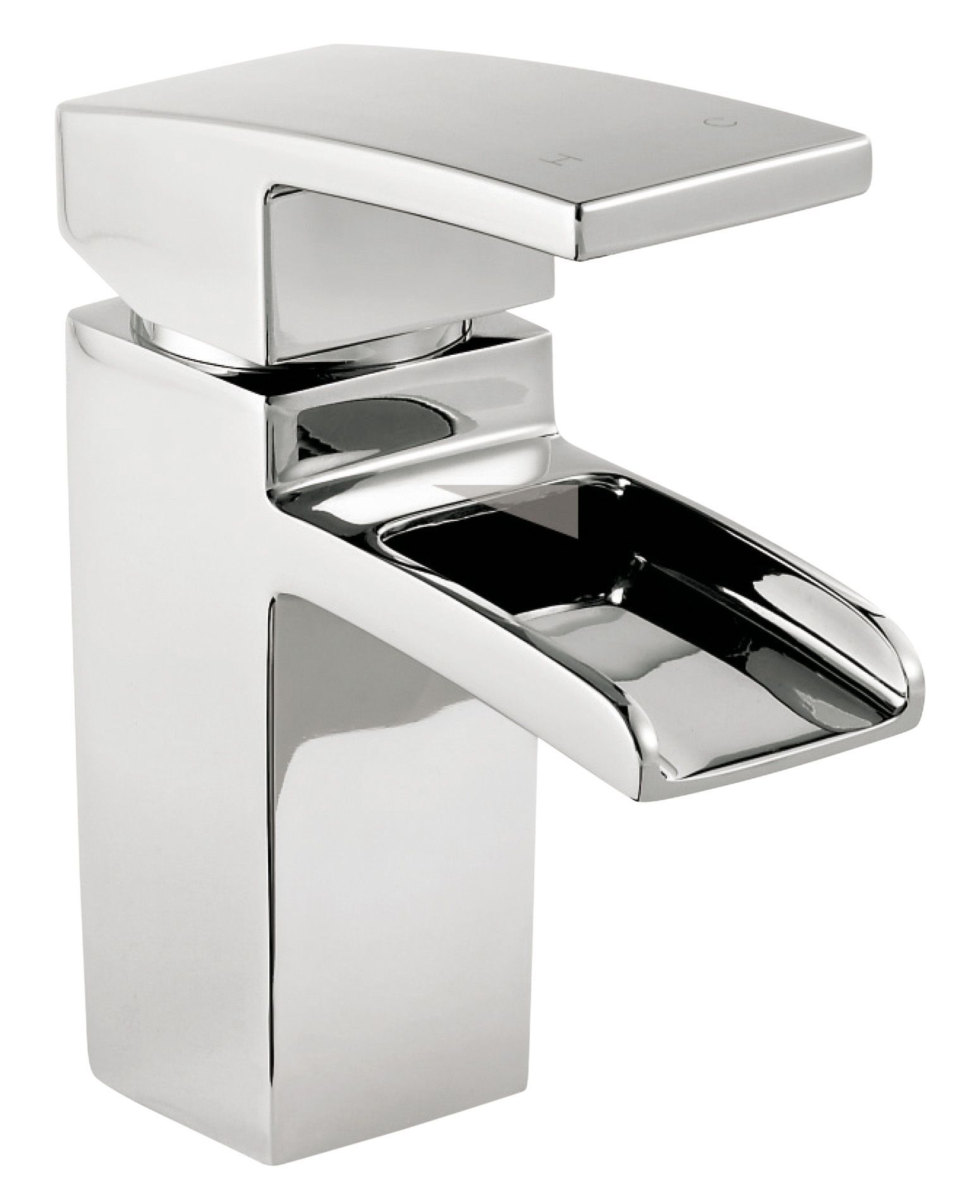Bathroom Sinks B&Q cooke & lewis cascade 1 lever basin mixer tap | departments | diy