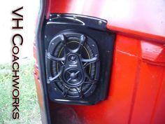67 68 69 70 71 72 Chevy Truck Rear Speaker Enclosures