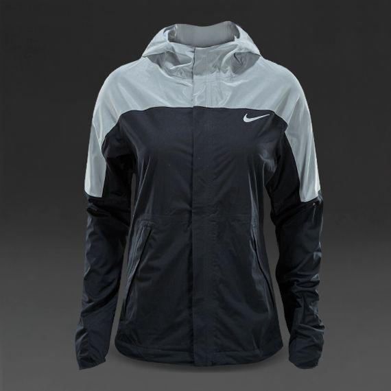 Womens Nike Shieldrunner Black Running Jacket
