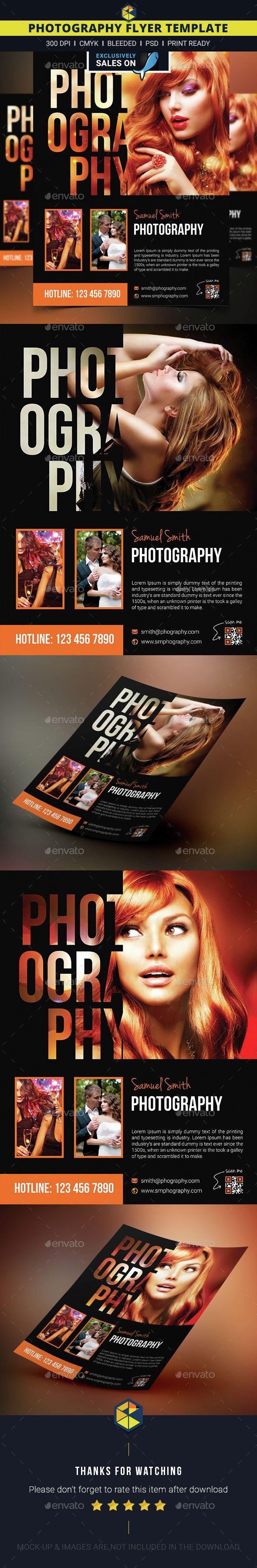Photography Flyer   Flyer Design   Pinterest   Diseño editorial ...
