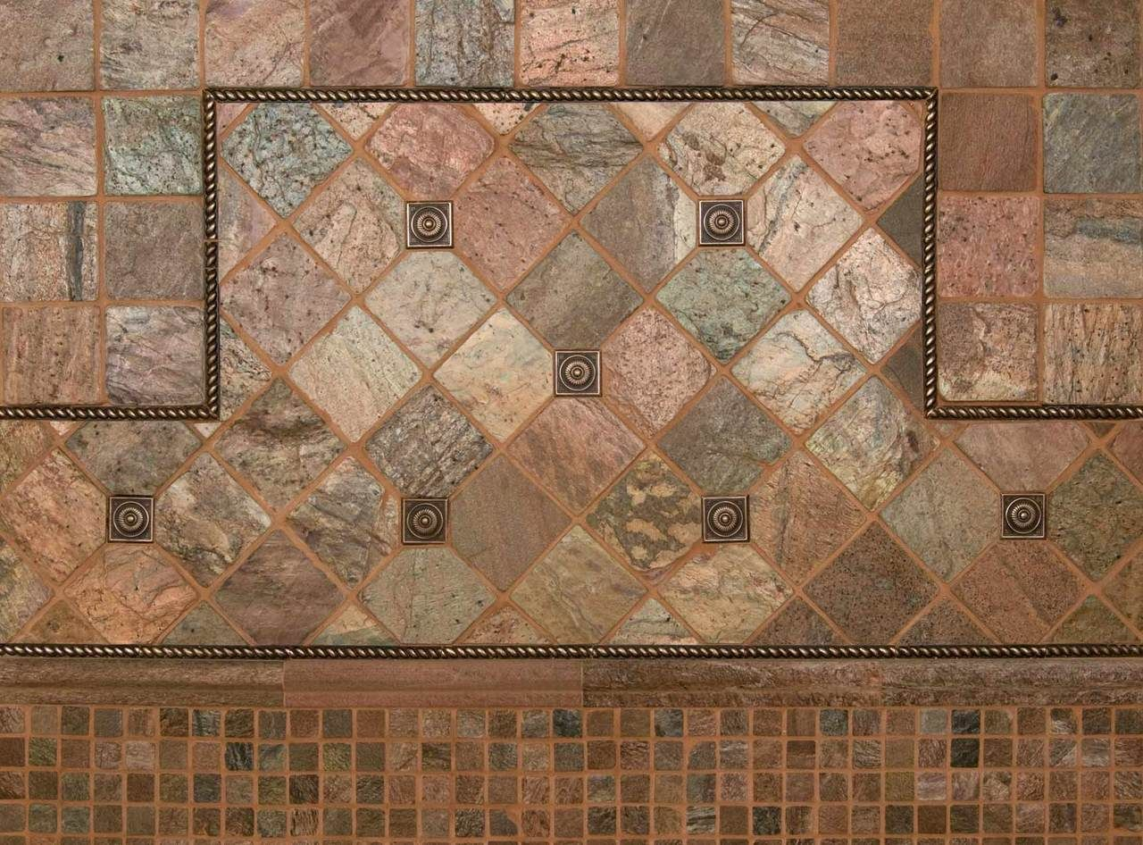 Slate Tile - 4x4 Copper On Sale! $3.49 Sq.Ft | Slate, Online ...