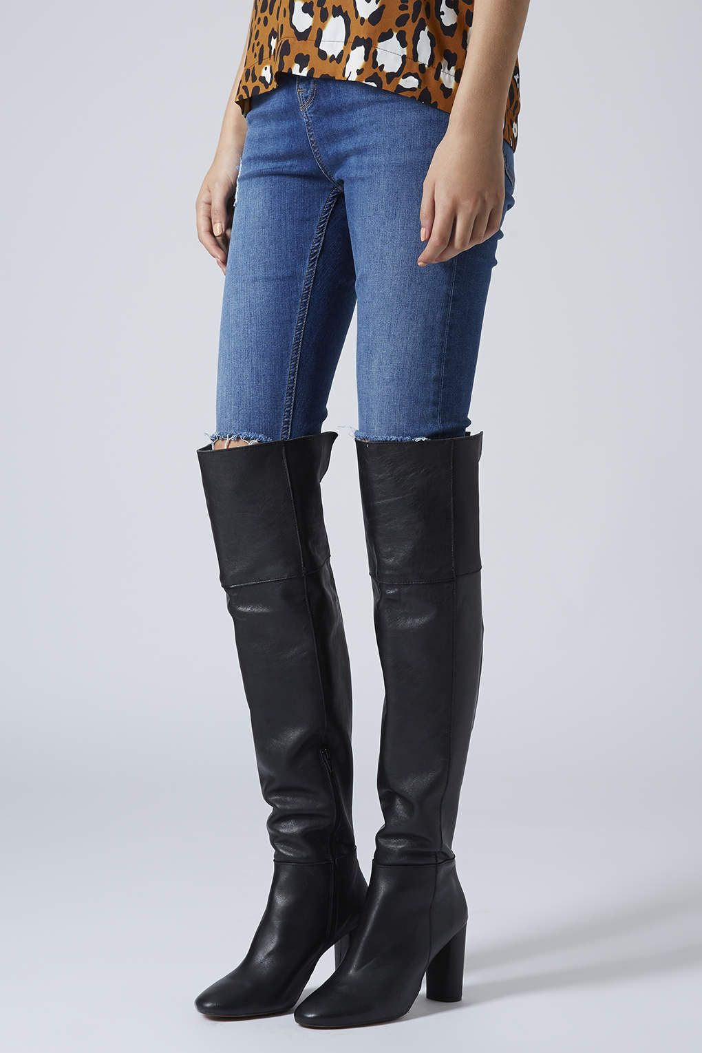 Photo 2 of COLLIDE Leather Over Knee Boots | Fall Wardrobe ...