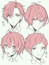 57 Ideas hair drawing reference anime art