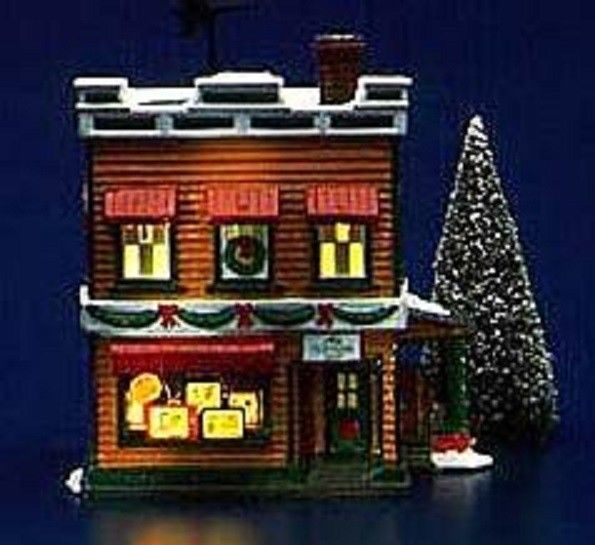 Dept 56 Original Snow Village Al's TV Shop 5423-2