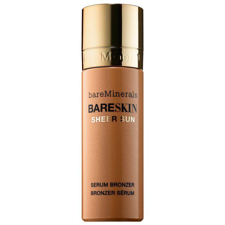 Bare minerals bareskin sheer sun serum bronzer mineral
