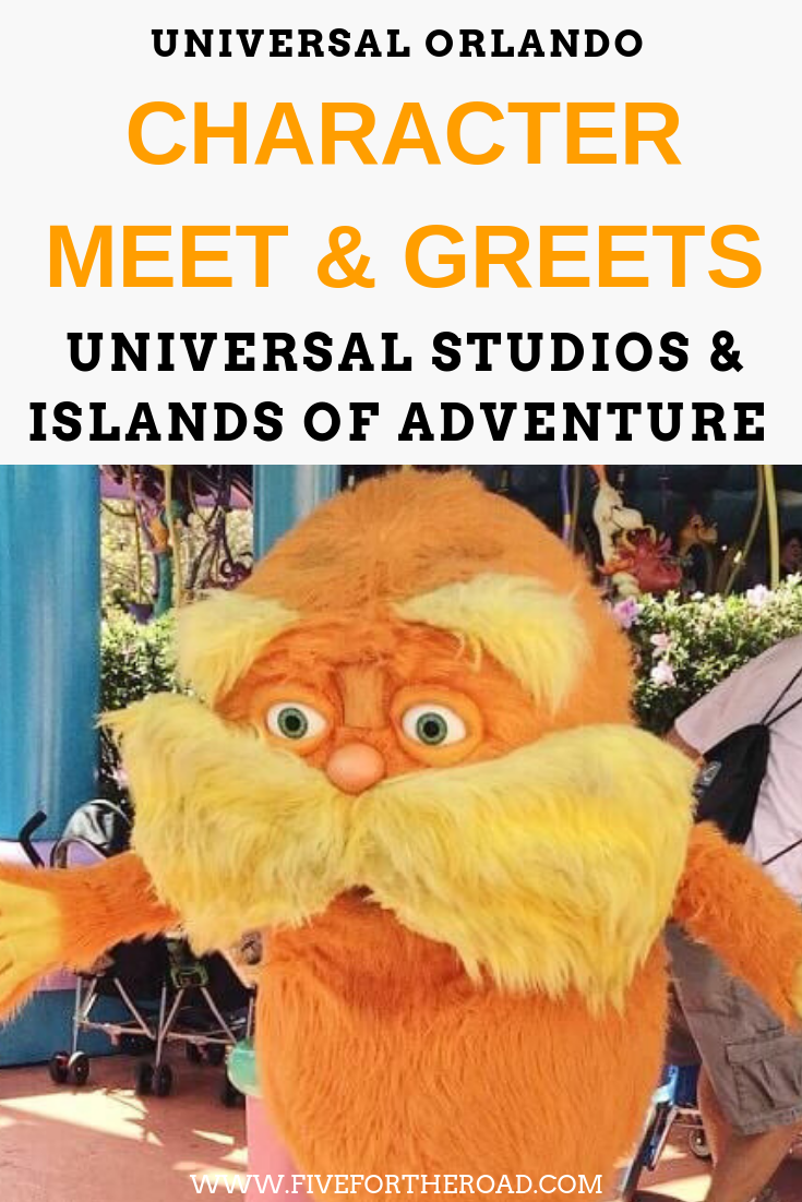 Guide To Characters At Universal Orlando To Meet And Greet Universal Studios Orlando Planning Universal Studios Orlando Trip Universal Orlando