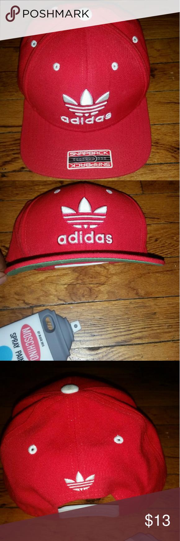 Adidas Snapback Red n White Adidas Snapback adidas Accessories Hats