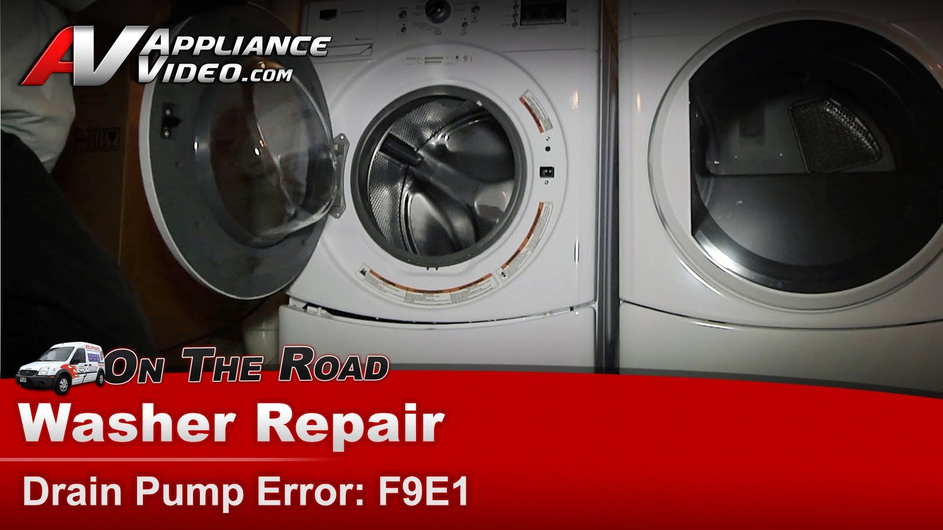 Maytag Whirlpool Washer Repair Drain Pump Error No Drain F9e1 Mhwe201yw00 Washer Repair Drain Pump Whirlpool Washer
