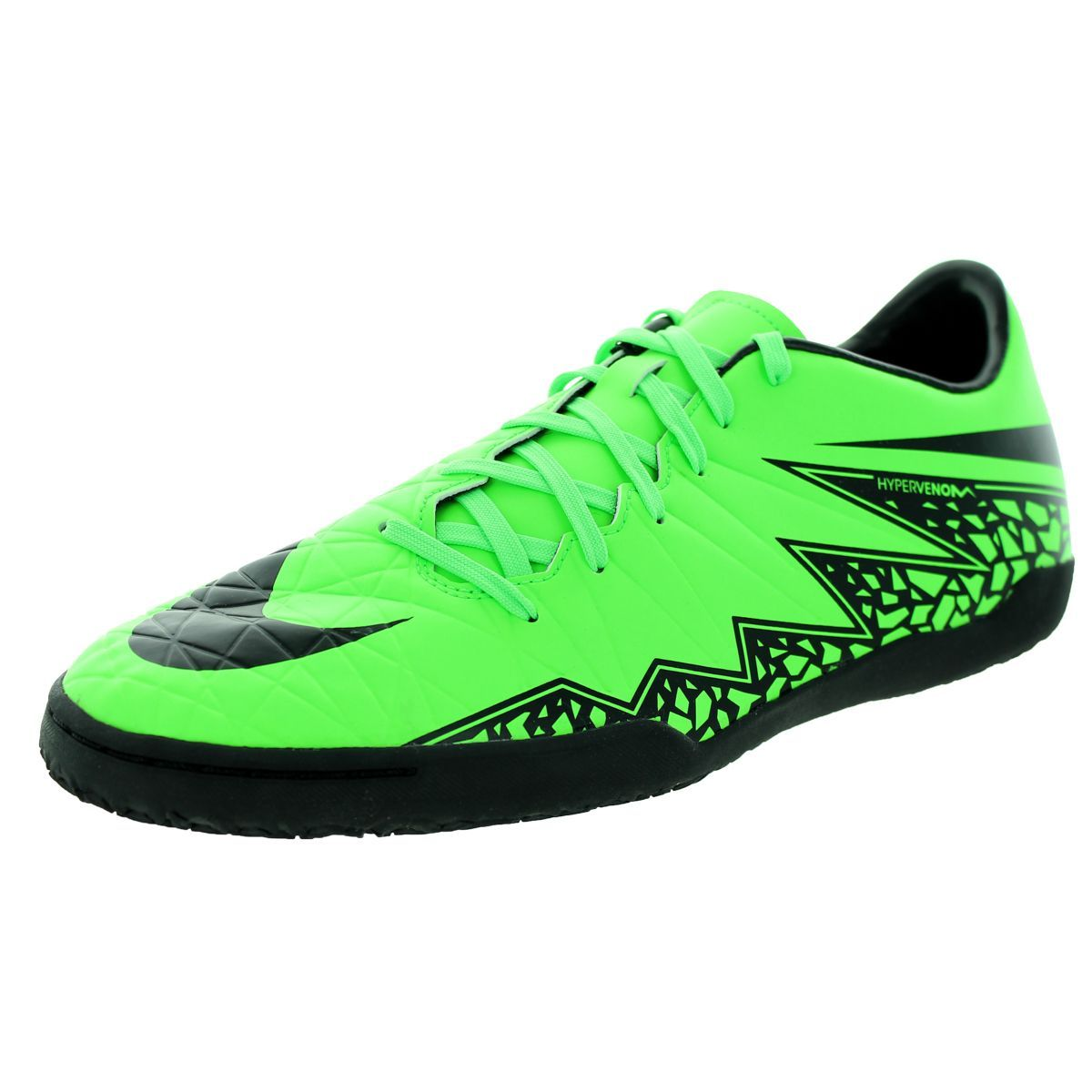 314265a3437093 Nike Kids Hypervenom Phelon Indoor Soccer Shoes White Black-Total ...