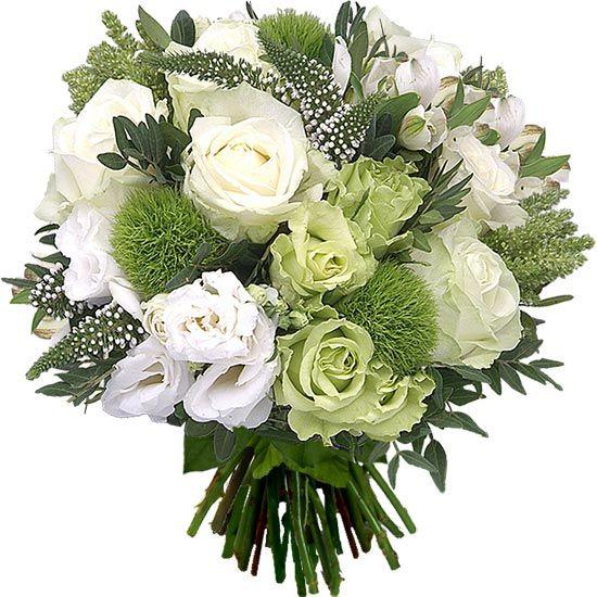Joli Bouquet De Renoncules Blanches Et Roses Aquarelle Com