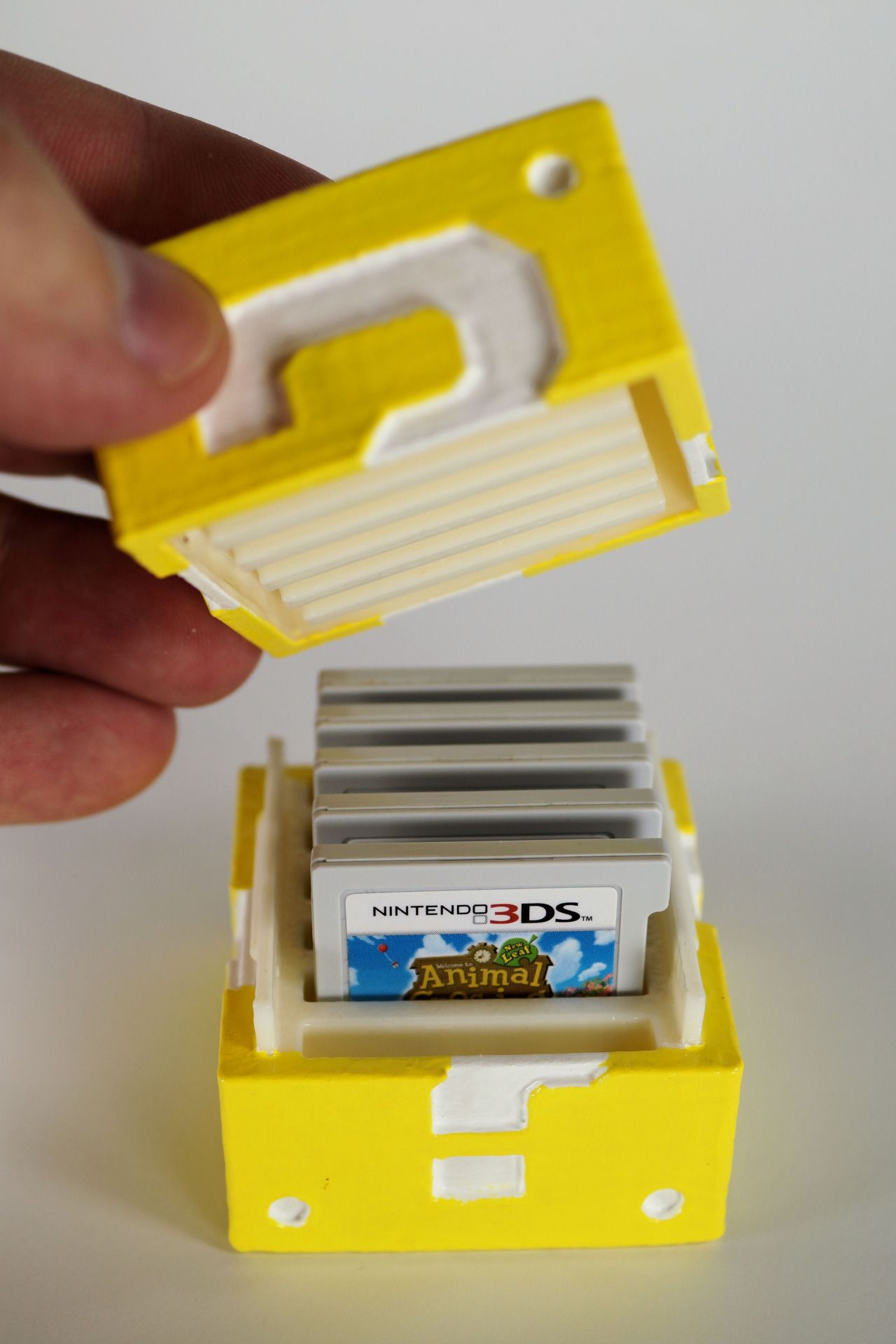 Diy 3 D Printed Mario Question Block Nintendo 3ds Game Cartridge
