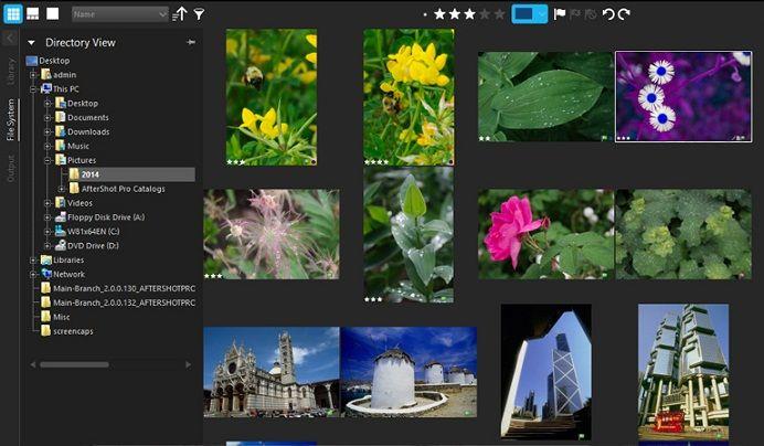 برنامج Corel Aftershot 2 لتحرير وتعديل الصور باحترافية Pandora Screenshot Art Screenshots