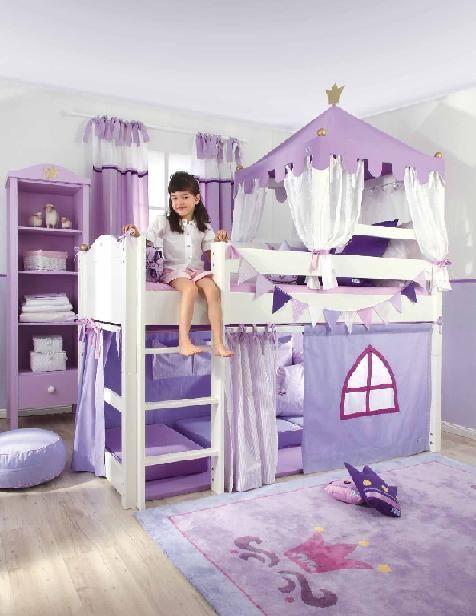 La decoraci n de dormitorios infantiles es un tema que for Cuartos de princesas