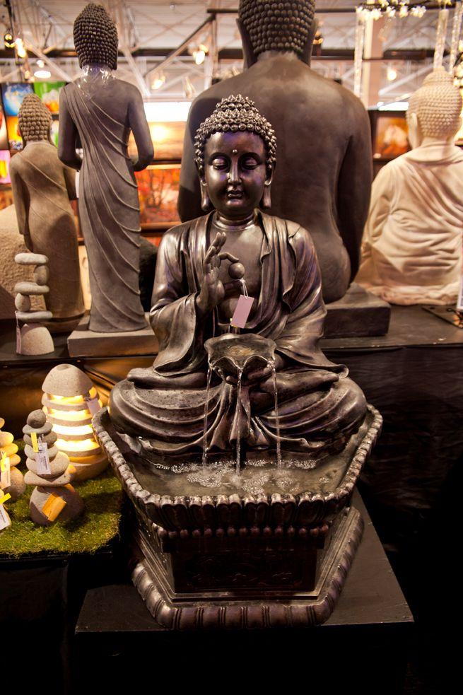 Sitting Buddha Tranquility Fountain http://bit.ly/1GyrBML