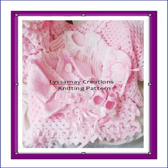 218780b2b BABY Knitting Pattern