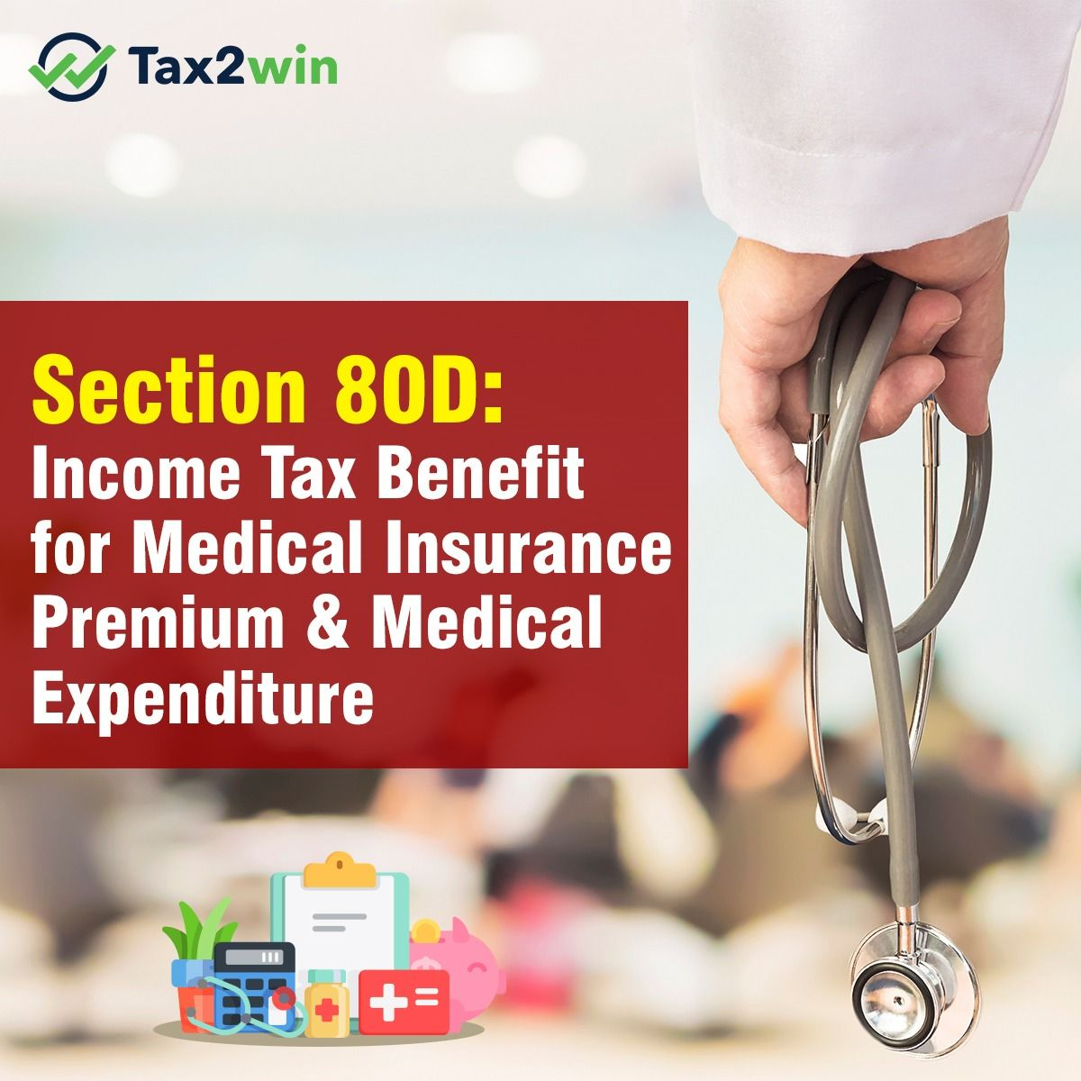 Section 80d Deduction For Medical Insurance Preventive Check Up In 2020 Medical Insurance Medical Insurance
