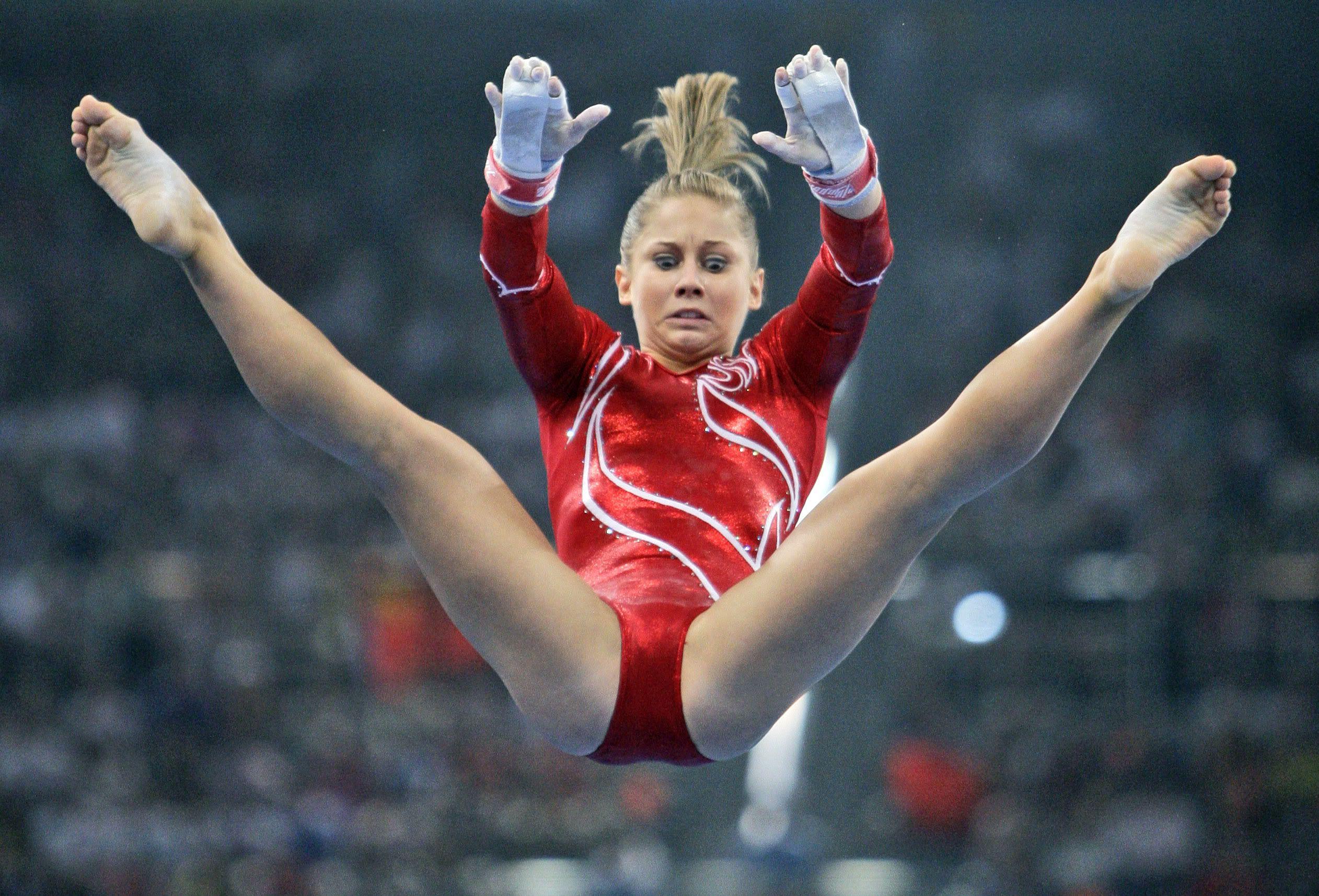 Shawn Johnson American Gymnast Gymnastics And Other