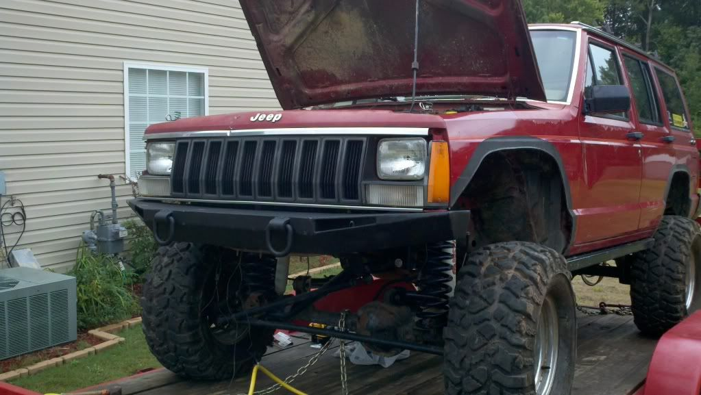Homemade Front Bumper Spent 45 Jeep Cherokee Forum Jeep