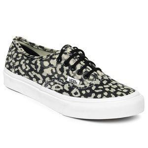 Vans Shoes Vans Classics Authentic Slim Leopard Print Leopard