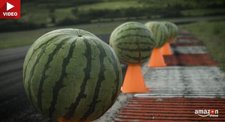 The Grand Tour Explores The Use Of Melon-Cones