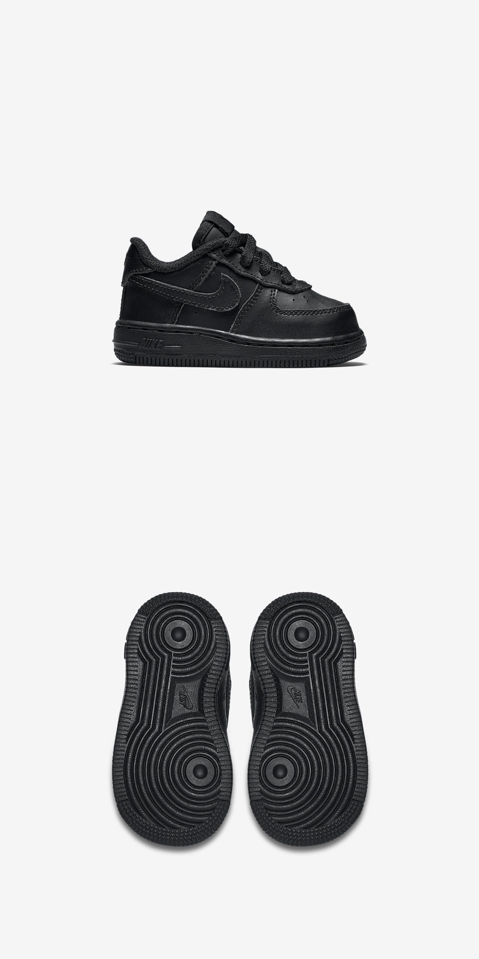 size 40 60861 d79c8 Baby Shoes 147285  New Nike Baby Nike Air Force 1 Low Toddlers Shoes  (314194-009) Black Black -  BUY IT NOW ONLY   35.99 on eBay!