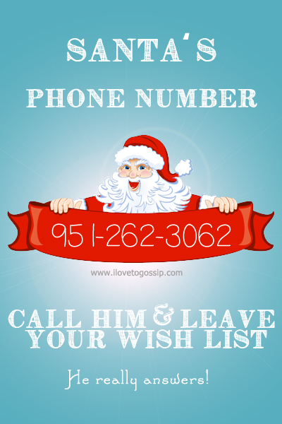 Christmas 2014 Call Santa S Phone Number It Really Works Coupon Karma Christmas Time Christmas Santa Claus Phone Number