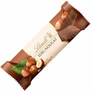 Lindt Edel Nougat Chocolate Bar 50g