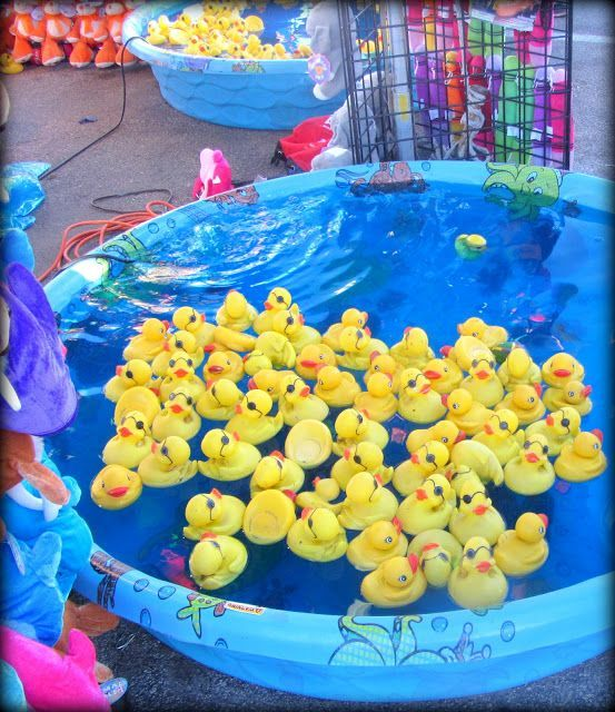 Family fun activities duck pond carnival game ideas for Fish pond game