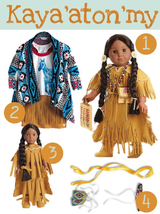 American Girl Release August 2014 / Lulu's Thoughts #indianbeddoll