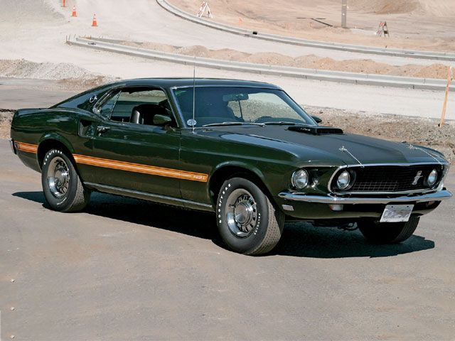 Mustang Monthly 1969 Ford Mustang Mach 1 In Black Jade Metallic This Was The Original Color Of Ben S Mach Vi Ford Mustang Mustang Ford Mustang Shelby Cobra
