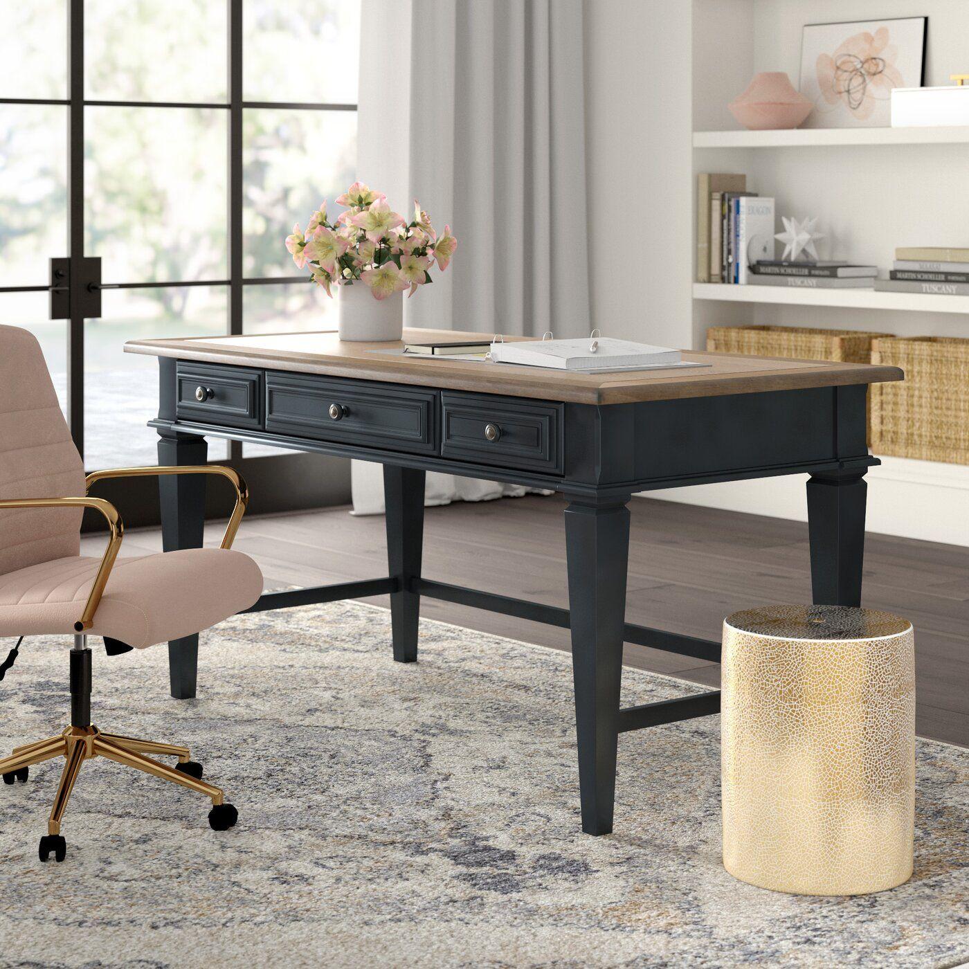 Mason Solid Wood Writing Desk & Reviews Joss & Main