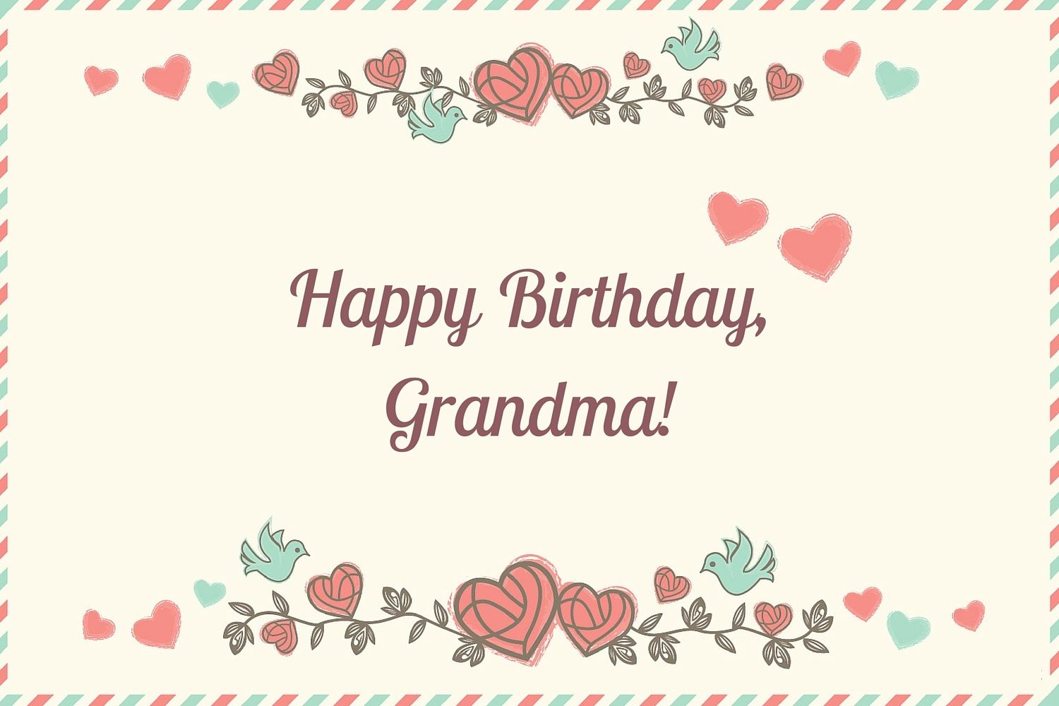 Happy Birthday Grandma Birthday Cards Messages Images Happy