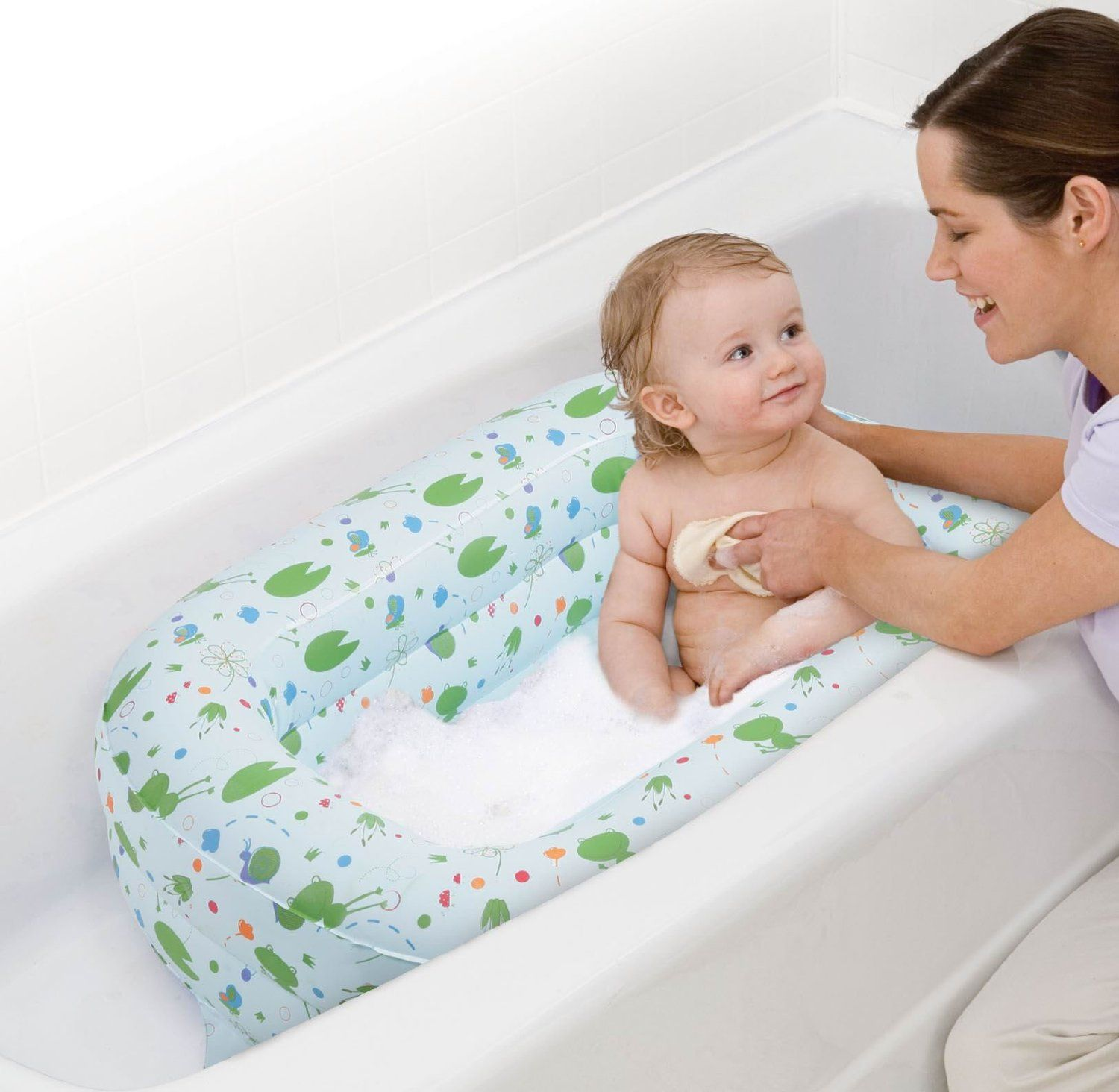 Review of Safety 1st Kirby Inflatable Tub   Best Baby Bath Tub ...