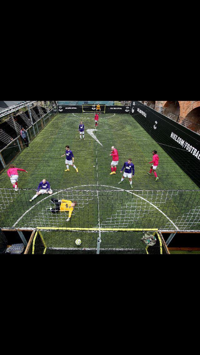Boiler Room Fives Shoreditch Soccer Field Soccer Sports