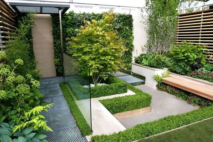 Giardini Moderni Immagini : Risultati immagini per piccoli giardini moderni tuin