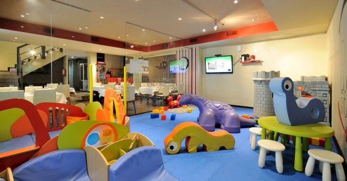 Restaurant con juegos para niños