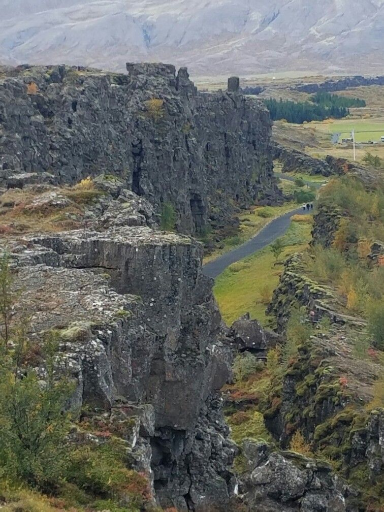 The tectonic plate that caused rift, Iceland