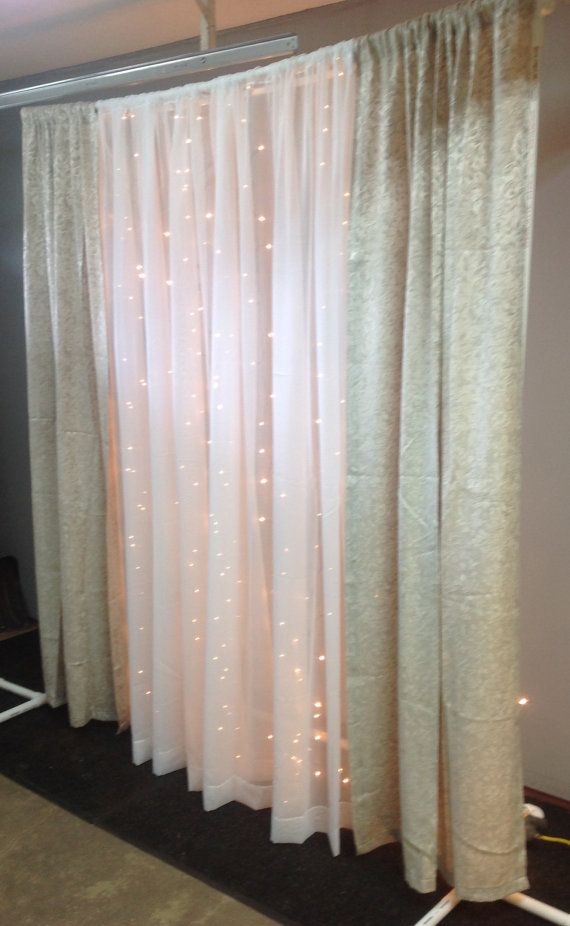 6 Wide By 8 Feet High Ceremony Backdrop Frame Diy Photobooth