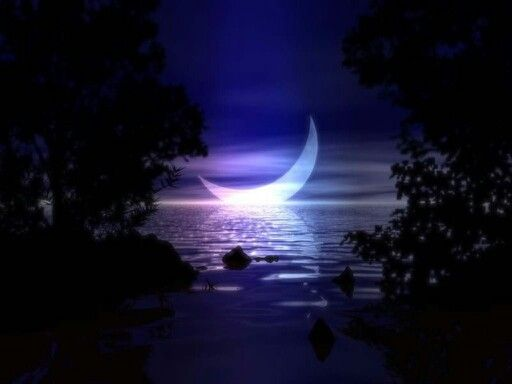 Floating Moon Pictures Moon Pictures Moon On The Water