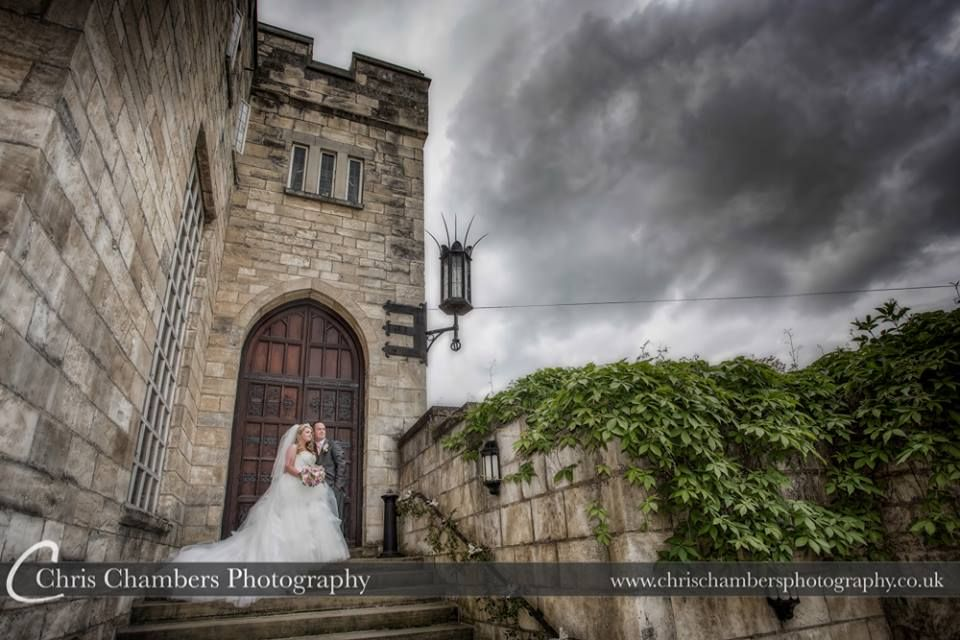 Wedding photography of Hazlewood Castle North Yorkshire