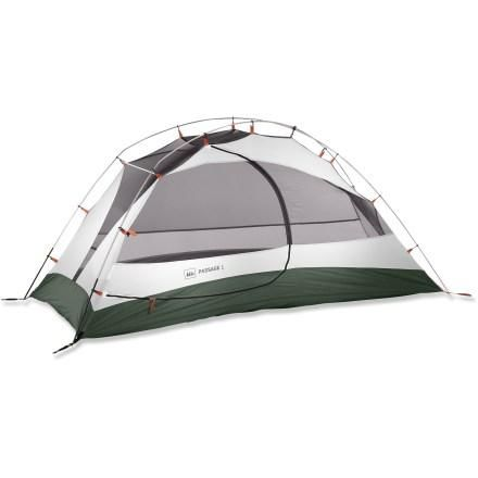 REI Passage 1 Tent - Free Shipping at REI.com  sc 1 st  Pinterest & REI Passage 1 Tent - Free Shipping at REI.com | Backpacking ...