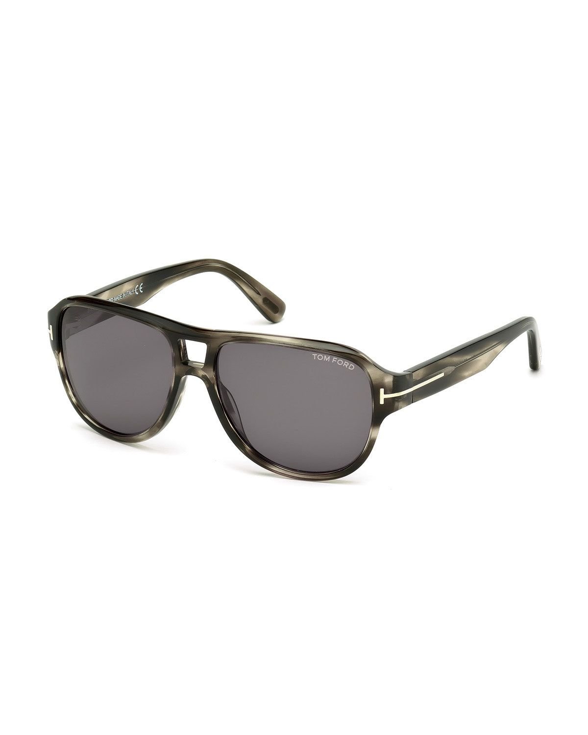 d06fc6f43a3 Dylan Men s Striped Acetate Sunglasses