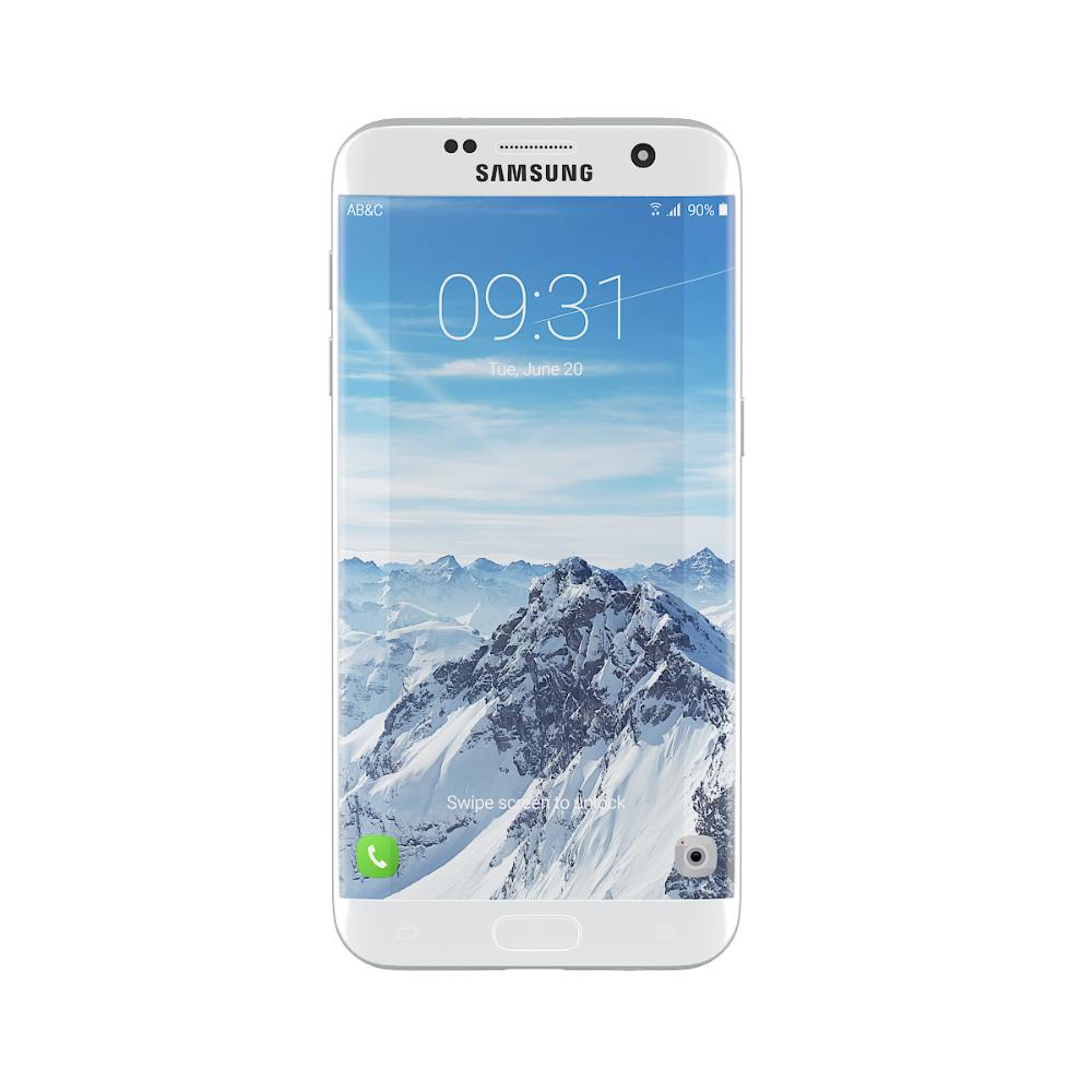 Galaxy S7 Edge White Galaxy Galaxy S7 Poster Design Inspiration