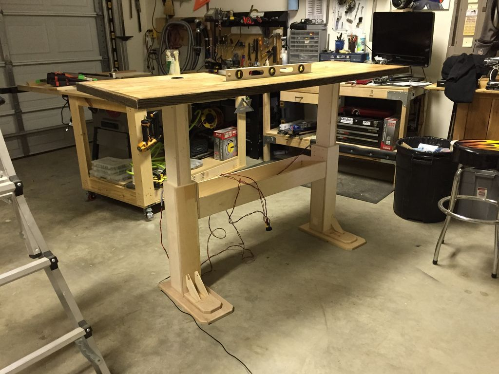 Electric Height Adjustable Desk | Desks, Houzz and Woods