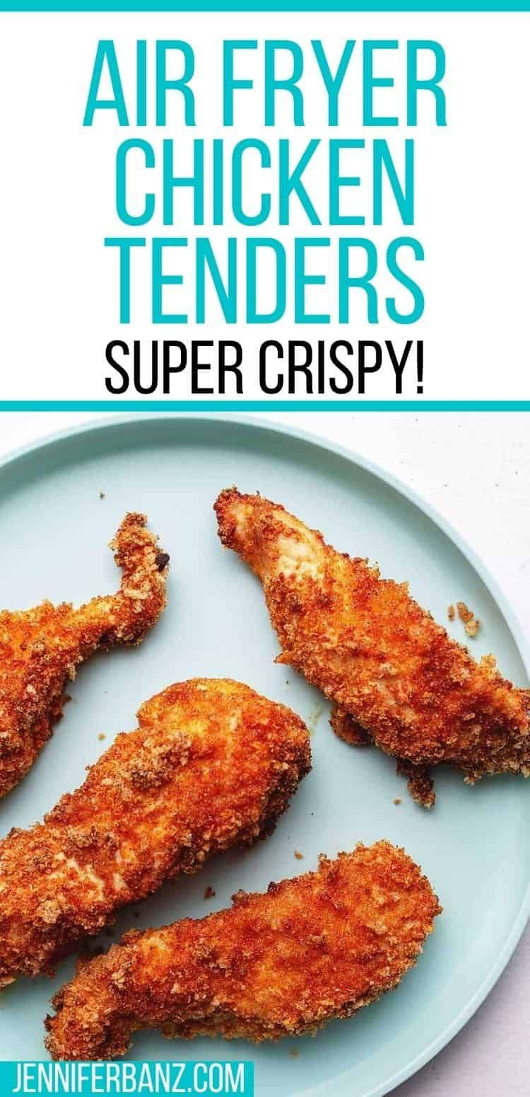 Air Fryer Chicken Tenders Low Carb With Jennifer In 2020 Air